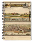 Chicago 1779-1857 Spiral Notebook
