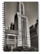Chicago Architecture - 12 Spiral Notebook