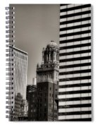 Chicago Architecture - 14 Spiral Notebook