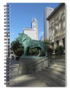 Chicago Art Spiral Notebook