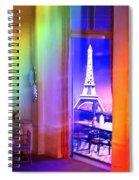 Chicago Art Institute Miniature Paris Room Pa Prismatic 08 Vertical Spiral Notebook