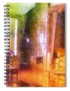 Chicago Art Institute Miniature Room Pa Prismatic 07 Spiral Notebook
