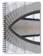 Chicago Art Institute Staircase Mirror Image 01 Spiral Notebook