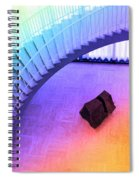 Chicago Art Institute Staircase Pa Prismatic Spiral Notebook