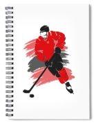 Chicago Blackhawks Player Shirt Spiral Notebook