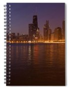 Chicago Dawn Spiral Notebook