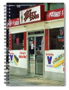 Chicago Dogs Spiral Notebook