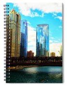 Chicago Fall Spiral Notebook