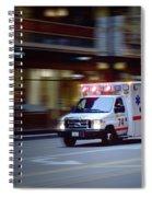 Chicago Fire Department Ems Ambulance 74 Spiral Notebook