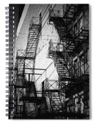 Chicago Fire Escapes 2 Spiral Notebook