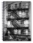 Chicago Fire Escapes 3 Spiral Notebook