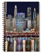 Chicago Full City View Spiral Notebook