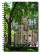 Chicago Jane Byrne Park In June Spiral Notebook