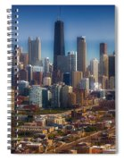 Chicago Looking East 01 Spiral Notebook