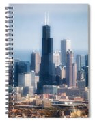 Chicago Looking East 02 Spiral Notebook