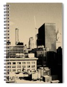 Chicago Loop Skyline Spiral Notebook