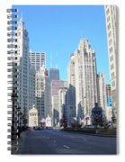 Chicago Miracle Mile Spiral Notebook