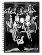 Chicago Prohibition New Years 1927 Spiral Notebook