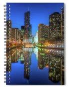 Chicago River East Spiral Notebook
