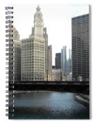 Chicago River Spiral Notebook