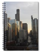 Chicago River View Spiral Notebook