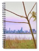 Chicago Skyline - The View From Montrose Point Spiral Notebook