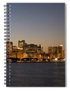 Chicago Skyline Panorama Spiral Notebook