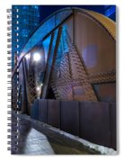 Chicago Steel Bridge Spiral Notebook