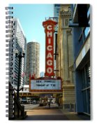 Chicago Theater - 1 Spiral Notebook