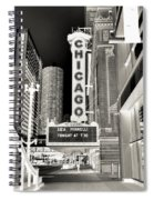 Chicago Theater - 2 Spiral Notebook