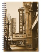 Chicago Theater - 3 Spiral Notebook