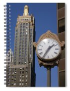 Chicago Time Spiral Notebook