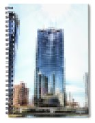 Chicago Under Construction On The River 02 Pa Spiral Notebook