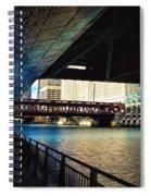 Chicago Water  Spiral Notebook