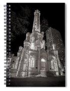 Chicago Water Tower Spiral Notebook