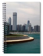 Chicago Waterfront Spiral Notebook