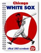 Chicago White Sox 1960 Scorebook Spiral Notebook