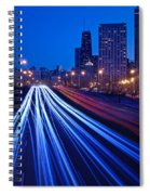 Chicagos Lake Shore Drive Spiral Notebook