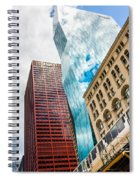 Chicago's South Wabash Avenue  Spiral Notebook