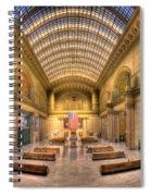 Chicagos Union Station Spiral Notebook