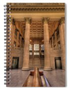 Chicagos Union Station Waiting Hall Spiral Notebook