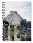 Chichen Itza 3 Spiral Notebook