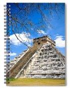 Chichen Itza And Tree Spiral Notebook