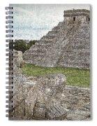 Chichen Itza Draw-like Spiral Notebook