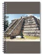 Chichen Itza Mexico 4 Spiral Notebook