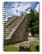 Chichen Itza Pyrmid 1 Spiral Notebook