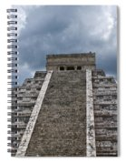 Chichen-itza Pyrmid In Mexico Spiral Notebook