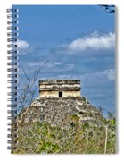 Chichen Itza Sunny Side Spiral Notebook