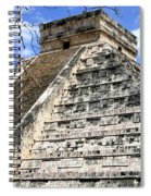 Chichen Itza Up Close Spiral Notebook
