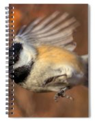 Chickadee Blurrrr Spiral Notebook